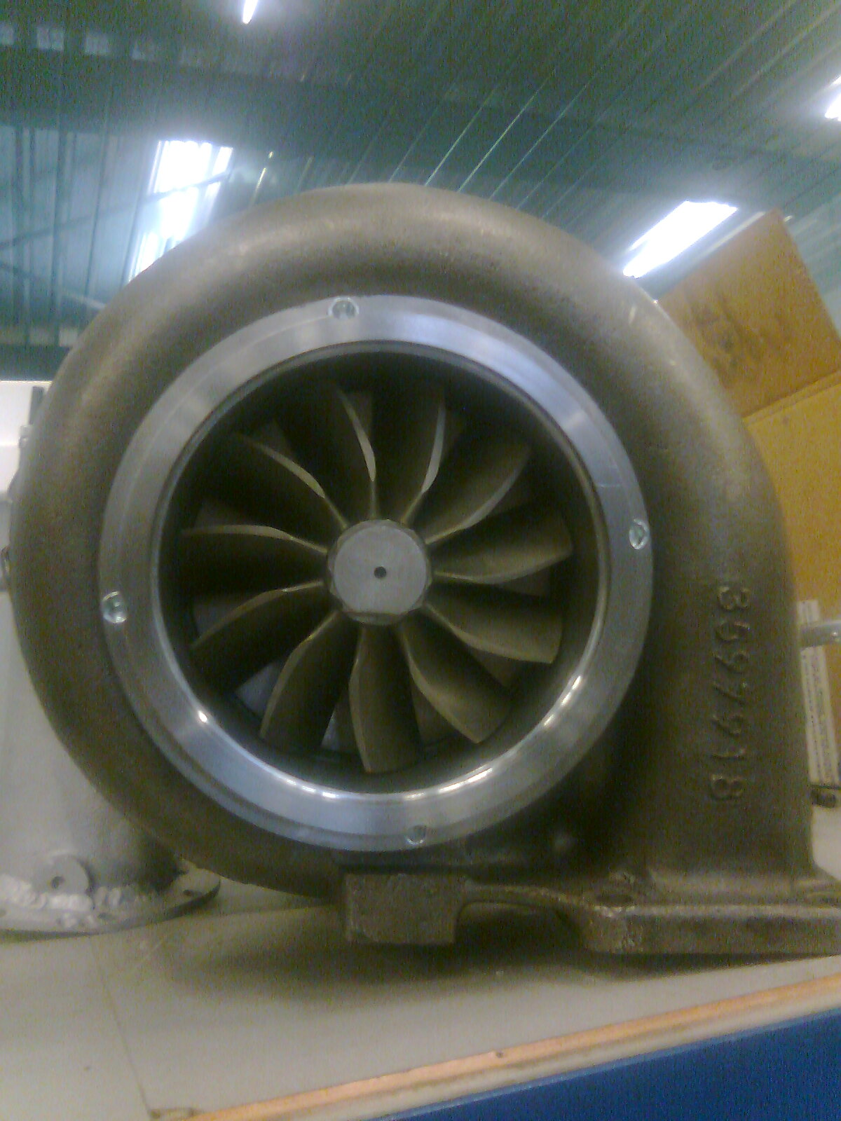5 inch turbine wheel Santen Technics